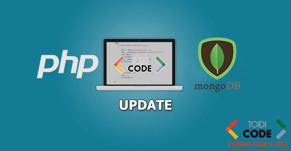 Bài 6: Update trong MongoDB bằng PHP