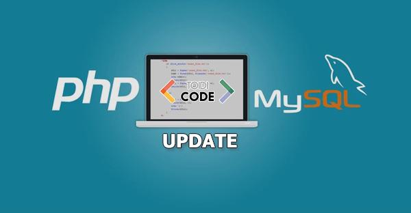 Bài 6: Update data MySql bằng PHP