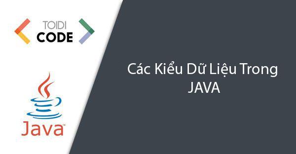 Bài 5: Các kiểu dữ liệu trong Java